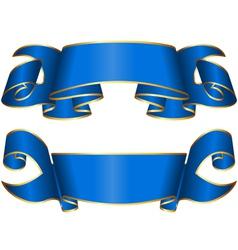 Ribbon 133 vector image