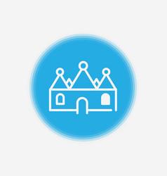 man icon sign symbol vector image