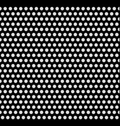 Monochrome dotted background repeatable seamless vector