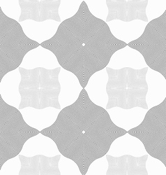 Monochrome pattern with light and dark gray wavy vector