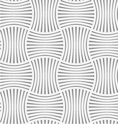 Perforated stripy grid vector