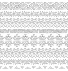 seamless abstract geometric pattern color book vector image