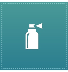 Spray flat icon vector