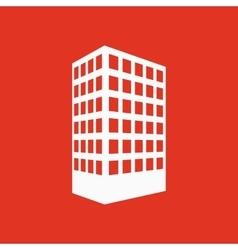 The building icon Apartment and skyscraper vector