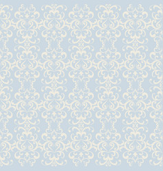 vintage ornamental background seamless pattern vector image