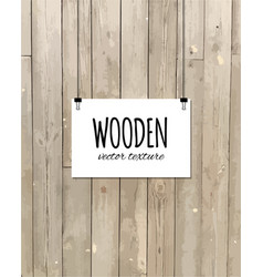 wooden texture for your design trace of wooden vector image