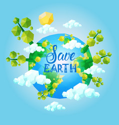 World environment day ecology protection holiday vector