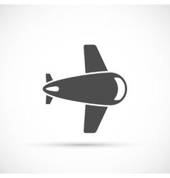 Airlane icon flat vector image