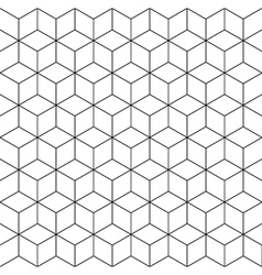 pattern cube 2 vector image