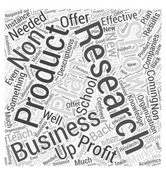Business plan for non profit school word cloud vector
