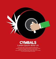Cymbals Music Instrument vector