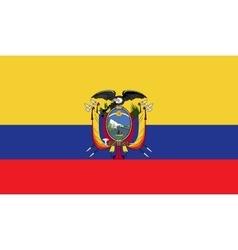 Ecuador flag image vector