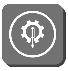 Engineering Rounded Square Icon vector