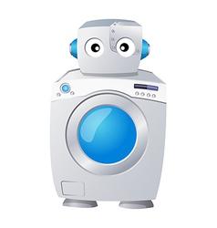 Icon washing machine vector