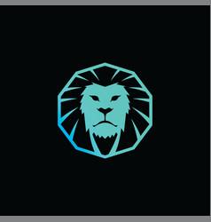 Lion king brand template logo logotype art vector