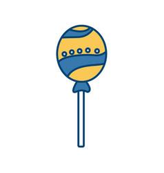 lollipop delicious candy vector image