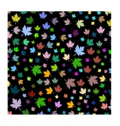 maple leafs background vector image vector image