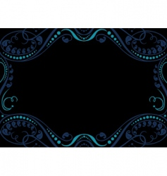 artistic frame vector image