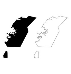 Capital region iceland island regions iceland vector