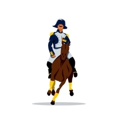 French cavalry Cartoon vector image