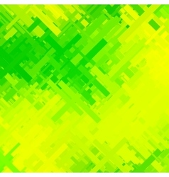 Green and Yellow Glitch Background vector