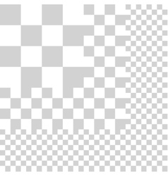 Grid opacity vector image