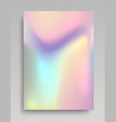 holographic vertical backdrop vector image