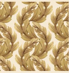 Modern art nouveau tiffany pattern vector