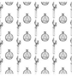 mystic magic background religion vector image