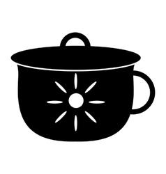 Potty simple icon vector