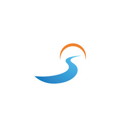 River logo vector