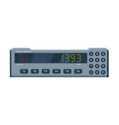 Taximeter device calculating equipment for vector