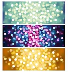 Defocused lights vector