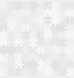 100 grey background puzzle jigsaw banner vector image