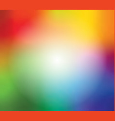 abstract blurred gradient mesh background in vector image