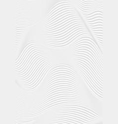 Abstract grey wavy lines refraction geometric vector