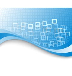 blue colored business background vector image