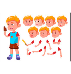 boy child kid teen leisure educational vector image