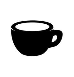 coffee cup isolated on white design element for vector image