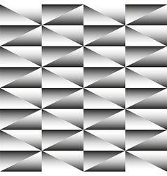 Geometric monochrome seamless pattern triangles vector
