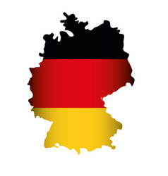 Germany country map icon vector