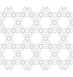 Hexagons texture subtle seamless beige pattern vector