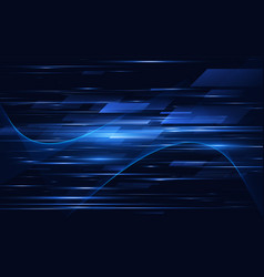 high speed technology background vector image