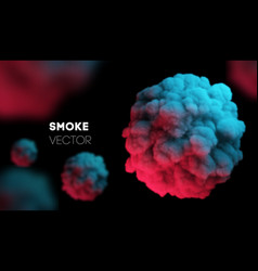 Light colorful smoke background eps 10 vector