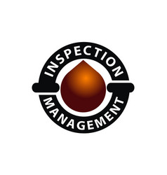 oil inspection management vector image