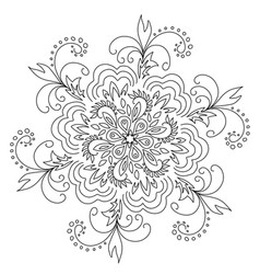 Stock black and white pattern vector