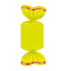sweet candy delicious isolated icon vector image