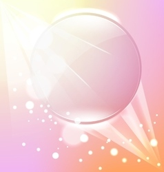 abstract pink frame background vector image vector image