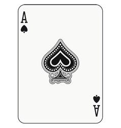 Ace of spade vector