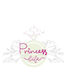 party bridal shower hen birthday card color girl vector image vector image